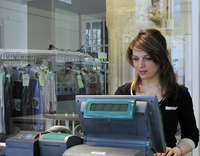 dry cleaners POS