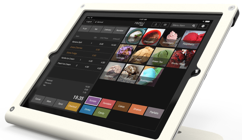 pos system for ice cream shop