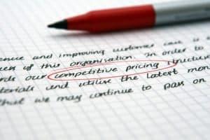 pricing range