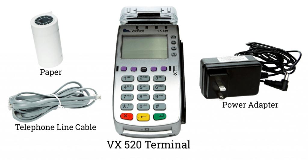 verifone vx520 setup