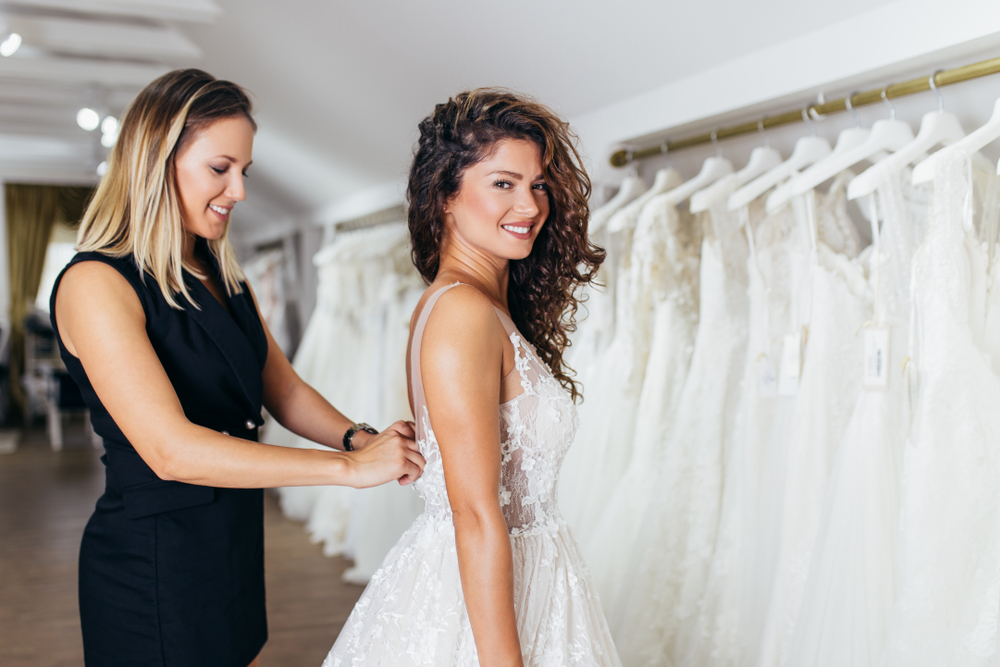starting a bridal shop